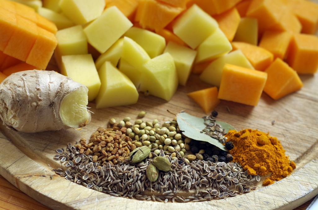 Крем супа от тиква - продукти