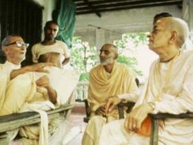Шрила Прабхупада и Шрила Шридхара Махарадж