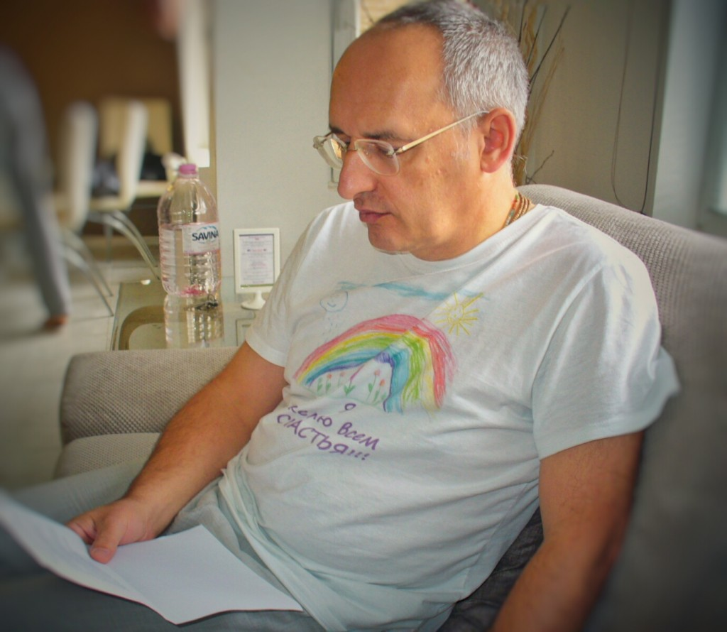 Олег Торсунов, преди лекция я България
